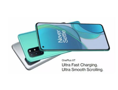 Новый OnePlus 8 T 8 T 8GB 128GB смартфон 120 Гц жидкости активно-матричные осид, Дисплей 5G Snapdragon 865 Octa Core 65 Вт Warp заряда 48MP Quad Camera